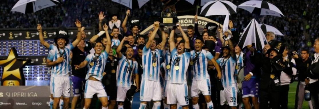 Buy Racing Club Soccer Argentina Products